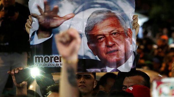 Meksika'da 70 yıl aradan sonra solcu devlet başkanı