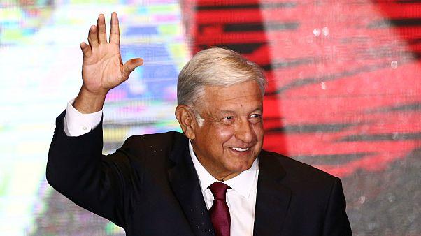 پیروزی مانوئل لوپز اوبرادور، نامزد چپگرای مکزیک در انتخابات ریاست جمهوری