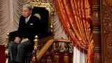 صورة من أرشيف رويترز للإمبراطور الياباني أكيهيتو في طوكيو.