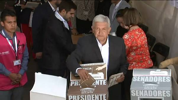 Mexico gets its first leftist leader in decades