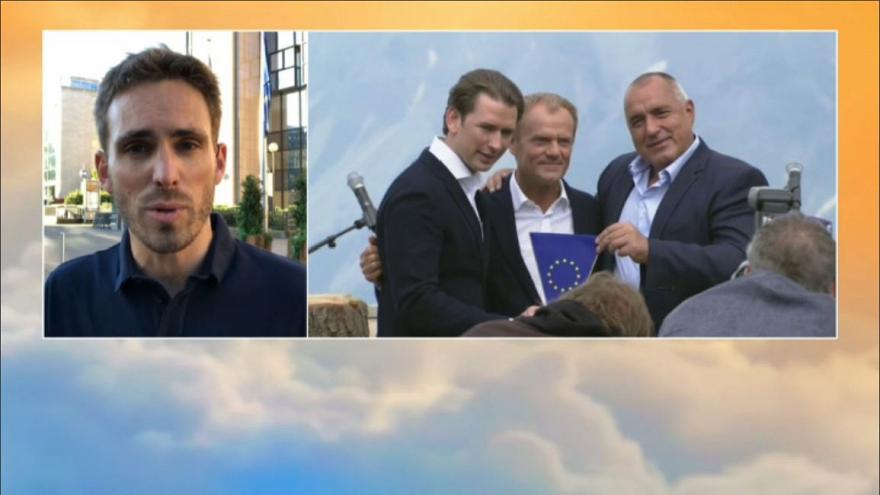 Watch: Austria takes over EU presidency - what does it mean for Europe's migration policy?