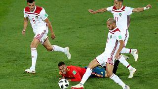 من مواجهة المغرب وإسبانيا