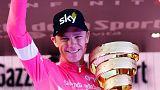 Team Sky'ın Büyük Britanyalı bisikletçisi Chris Froome