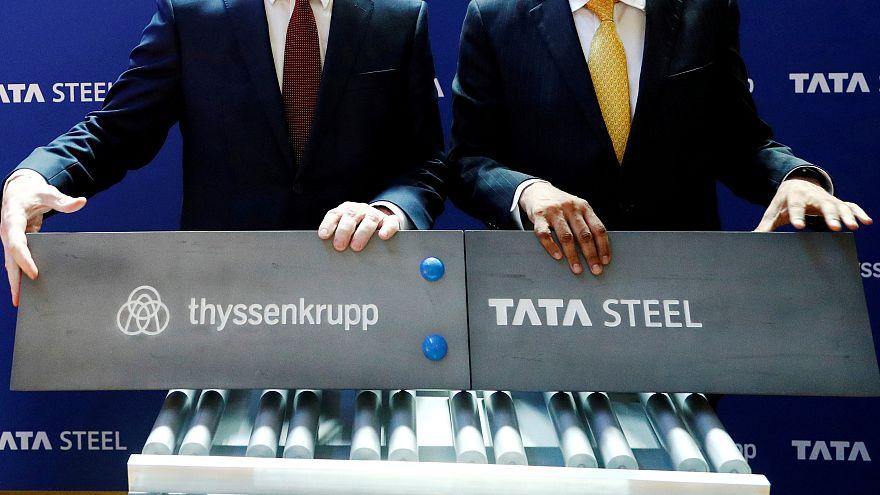 Thyssenkrupp verschmilzt seinen Stahl mit Tata