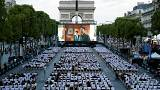 Paris'te açık hava sineması