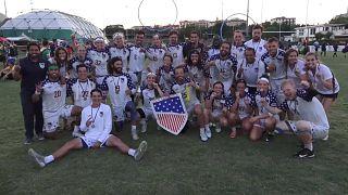 Quidditch dünya kupası ABD Belçika final maçı