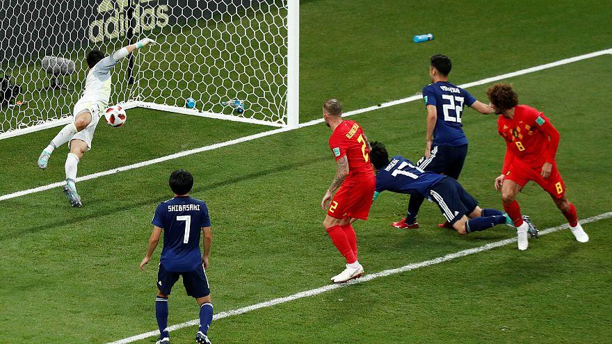 كأس العالم 2018: المنتخب البلجيكي يسجل هدف الفوز أمام  اليابان في الوقت بدل الضائع