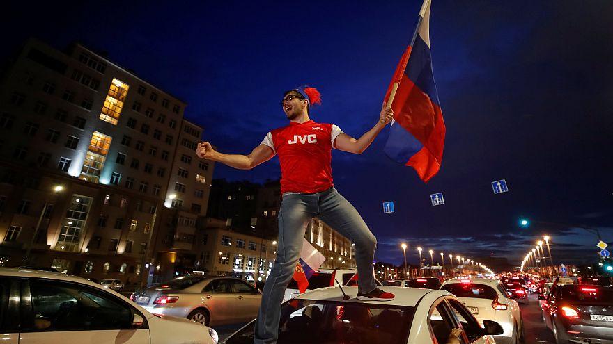 Nuit de folie à Moscou