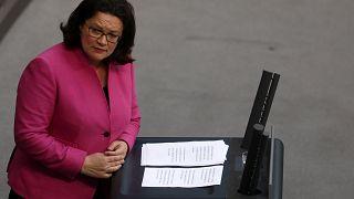 """El SPD pide a la CDU y CSU """"responsabilidad gubernamental"""""""
