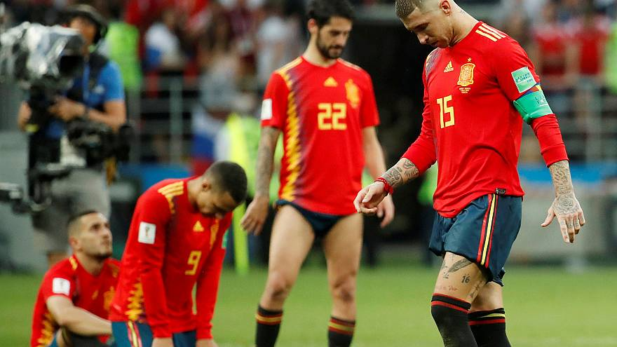 Spanish Twitter users take World Cup defeat with humour