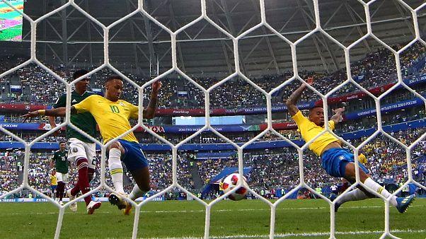 Rússia 2018: Brasil derrota México e segue para os quartos de final