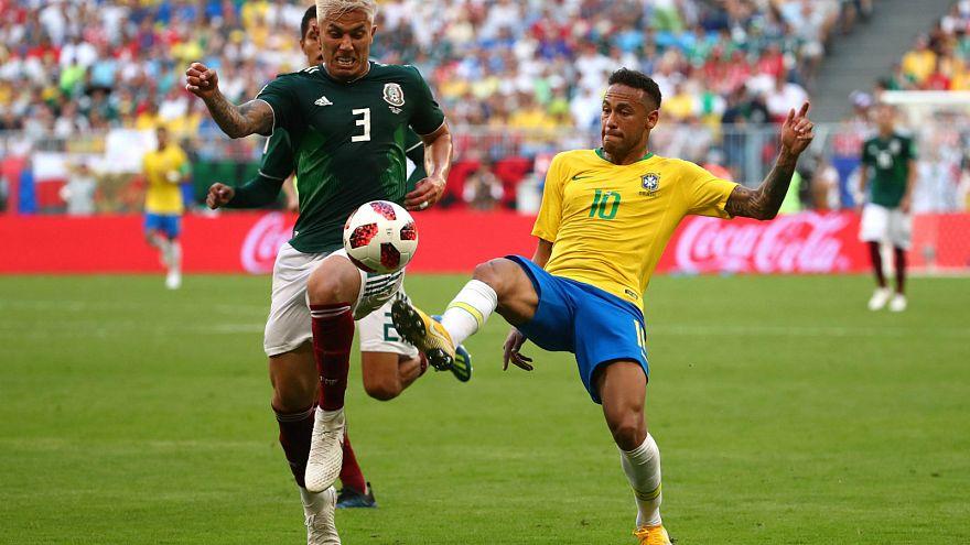 Dünya Kupası'nda samba rüzgarı: Brezilya çeyrek finalde
