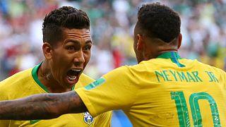 برزیل با دو گل نیمار و فیرمینو صعود کرد