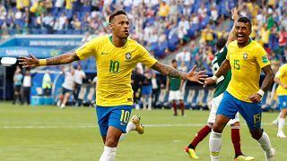 WM 2018: Brasilien im Viertelfinale