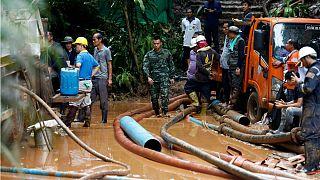 عملیات نجات برای نوجوانان ناپدیدشده تایلندی