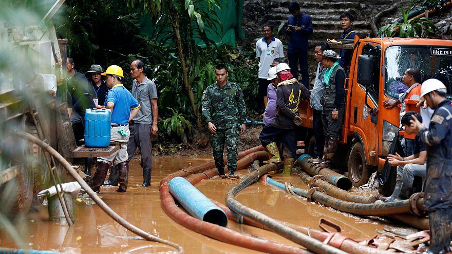Tayland'da kaybolan 12 çocuk bulundu