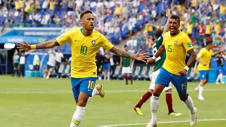 Futball-vb: 8 között a brazilok