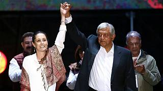 رئیس جمهور جدید مکزیک و شهردار جدید مکزیکوسیتی