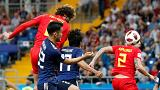 Japonya-Belçika Dünya Kupası karşılaşması