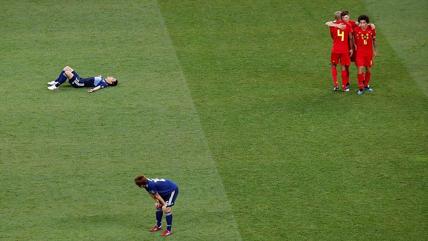"""Rússia 2018: Bélgica apura-se para os """"quartos"""" ao derrotar o Japão por 3-2"""
