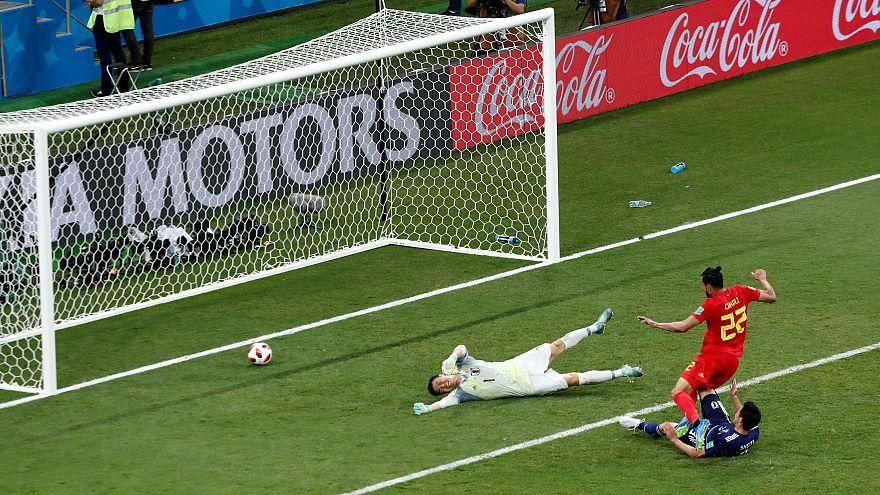 Bélgica derrota a Japón (3-2) con un gol en el descuento