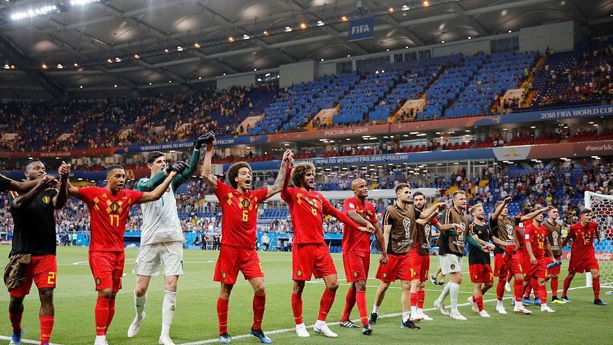 WM 2018:  Belgien setzt sich mit Mühe gegen Japan durch