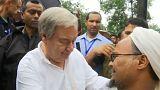 غوتيريش يدعو لزيادة الضغط على ميانمار من أجل حماية مسلمي الروهينغا