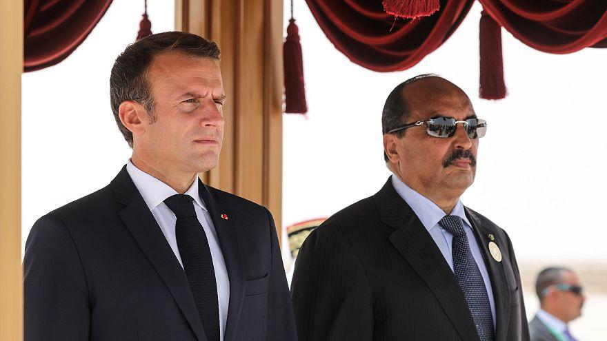 Macron au sommet de l'Union africaine