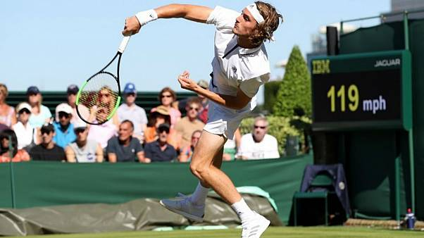 Wimbledon: Άνετη πρόκριση για τον Στέφανο Τσιτσιπά