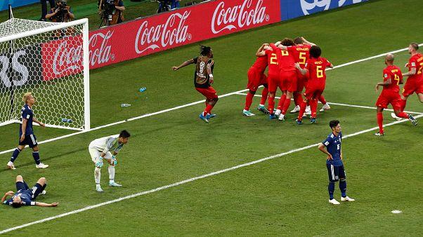 في دقائق مجنونة... بلجيكا تطيح بأحلام اليابانيين في كأس العالم