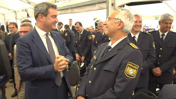 New Border Police at Bavarian and Austrian border