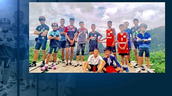 صورة جماعية للأطفال المختفين