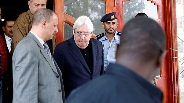 المبعوث الخاص للأمم المتحدة إلى اليمن مارتن غريفيث