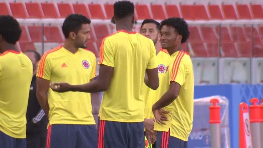 Inglaterra y Colombia cierran los octavos del Mundial