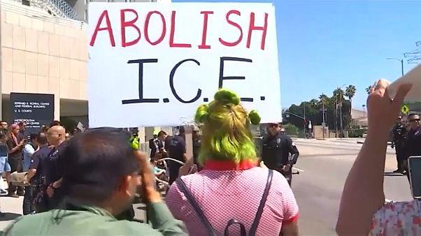 صورة للمتظاهرين