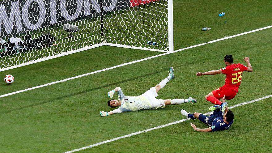 Bélgica vs. Japón: una remontada nunca vista en casi medio siglo