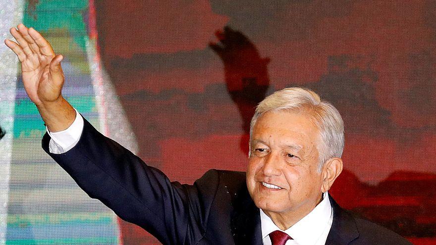 Le nouveau président mexicain tend la main à Donald Trump