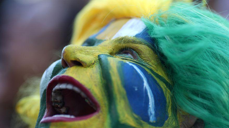كأس العالم 2018: البرازيليون والبلجيكيون يحتفلون بتأهل منتخبيهما إلى الدور ربع النهائي