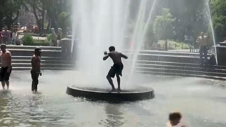 USA: extrém hőség van több államban is