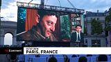 Les Champs-Elysées transformés en cinéma géant le temps d'une soirée