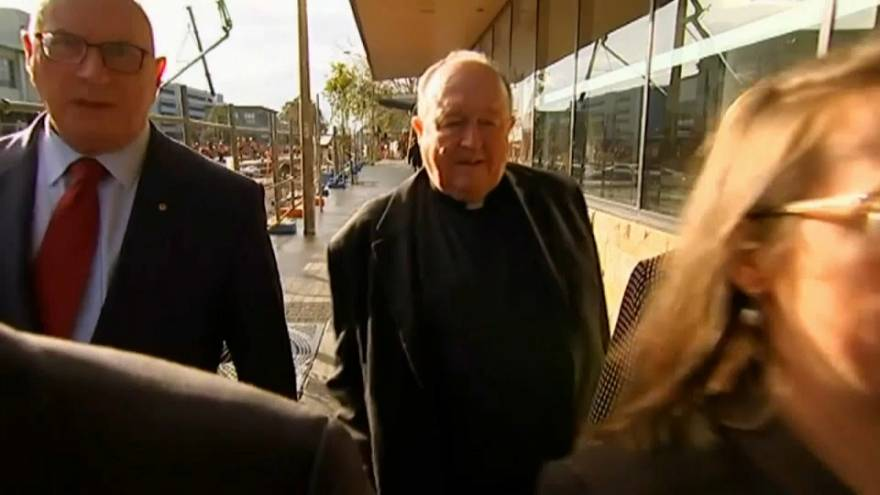 Australian Archbishop convicted of concealing child sex abuse in the church