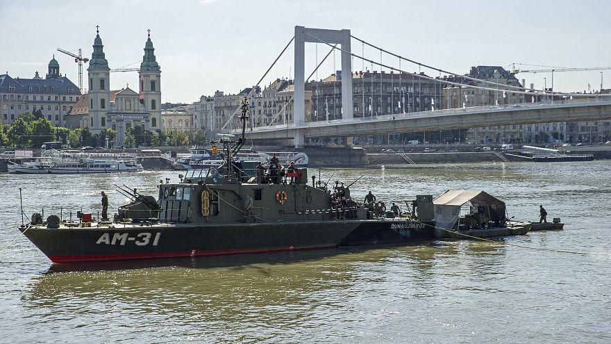 La bombe de la 2e guerre mondiale retrouvée dans le Danube