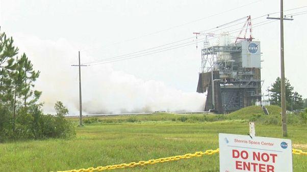 السلطات الأمريكية تجري اختبارا صاروخيا لتطوير الأبحاث الفضائية