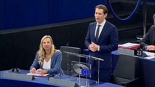 AB dönem başkanı Avusturya'nın önceliği sınır güvenliği