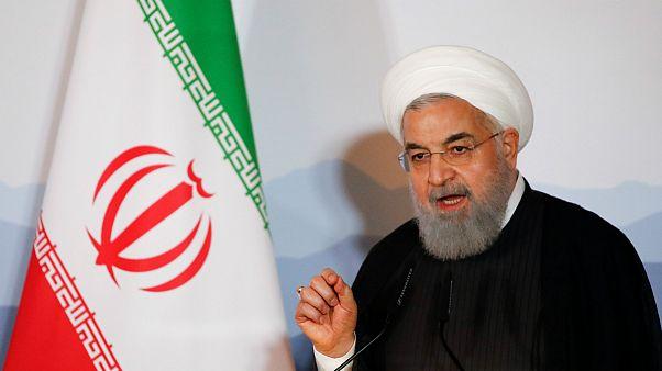 روحانی در سوئیس: ایران اسرائیل را به رسمیت نمیشناسد