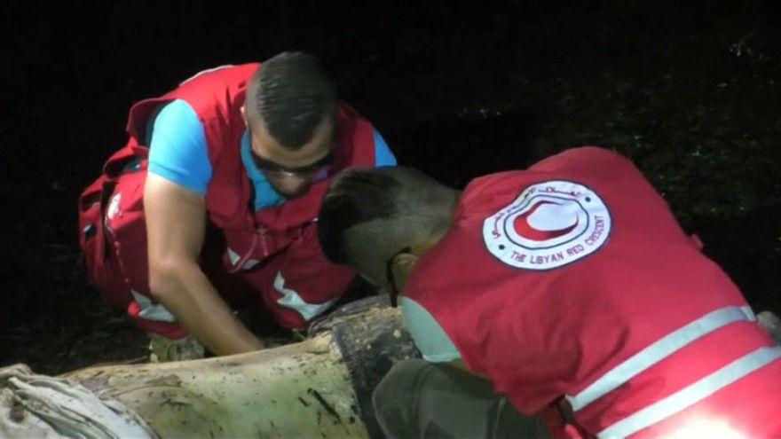 Dozens missing as boat capsizes off coast of Libya