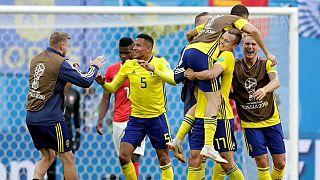 La solidez de Suecia se impuso al arrojo de Suiza en el Mundial