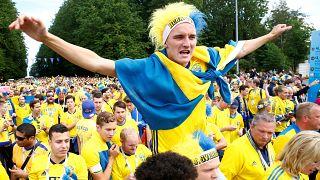 Sweden beat Switzerland 1-0, advance to quarter-finals