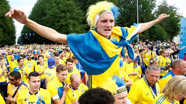 Sweden beat Switzerland 1-0, advance to quarter-finals