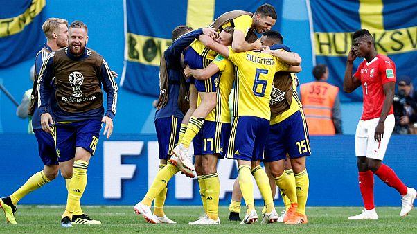 Mondial-2018 : la Suisse éliminée par la Suède